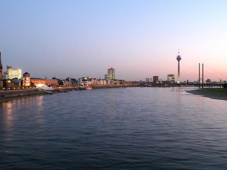 Vue de Düsseldorf