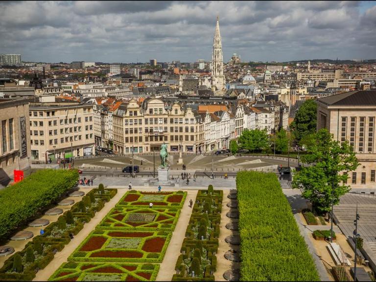 Vue de Bruxelles