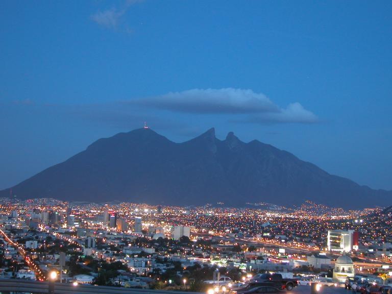 Vue de Monterrey