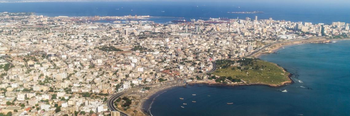 Vue de Dakar