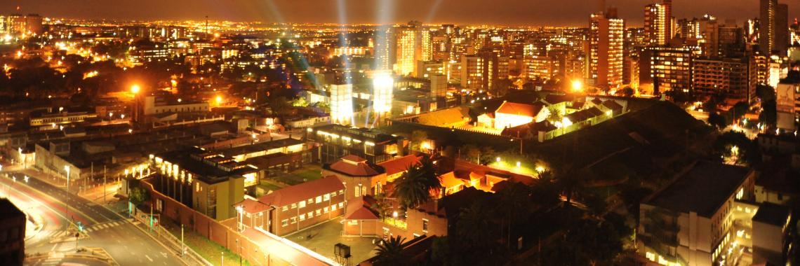 Vue de Johannesburg