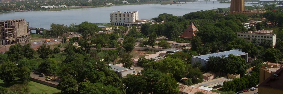 Vue de Bamako
