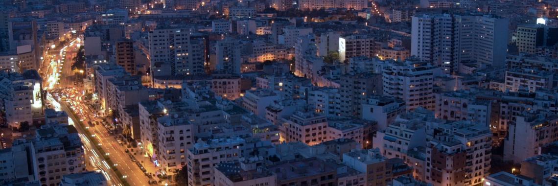 Vue de Casablanca