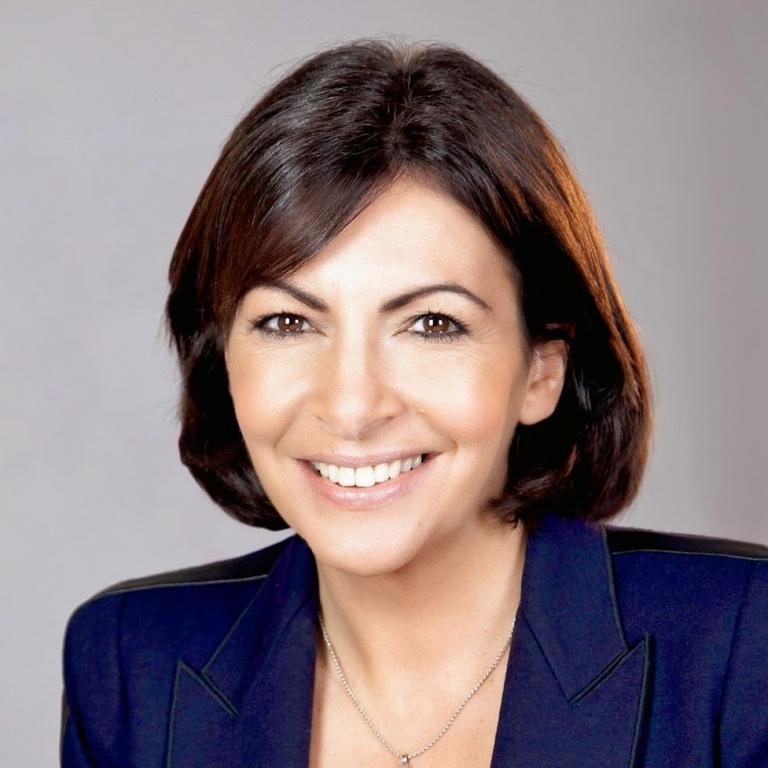 Anne Hidalgo, mairesse de Paris