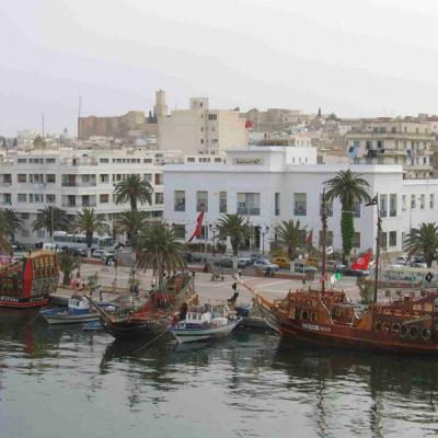 Vue de Sousse