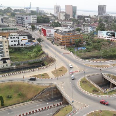 Vue de Douala